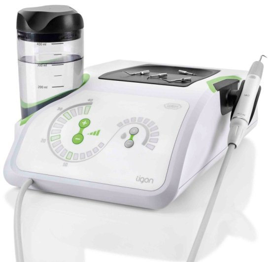 With Tigon+, W&H has developed a piezo scaler unlike any other. Its unique features (three modes, large, easy-to-read display,range of tips, etc.) will greatly simplify your daily work. Your patients will experience the most relaxing and soothing treatment available.