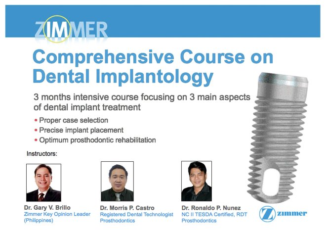 Comprehensive Course on Dental Implantology